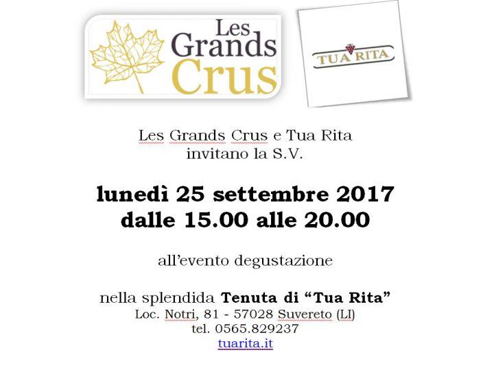 Evento degustazione Les Grands Crus in Toscana