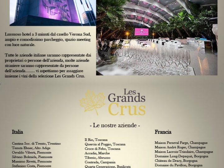 Evento degustazione Les Grands Crus a Verona
